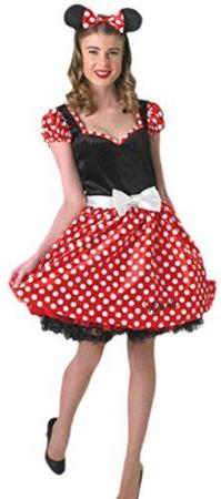 Erwachsene Damen Minnie Maus Kostüm Rock /& Mickey Junggesellinnenabschied