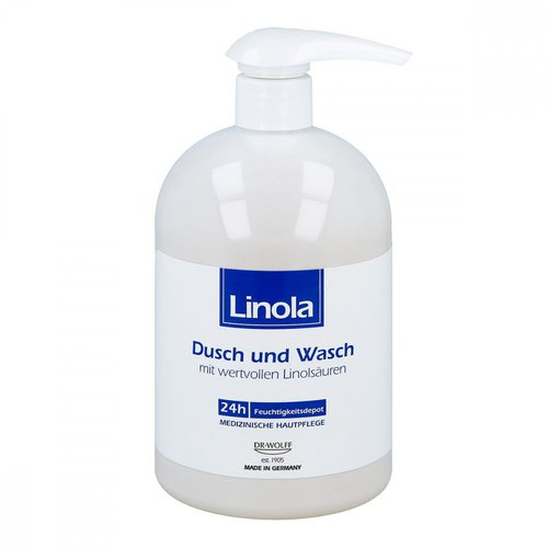 Linola Dusch und Wasch mit Spender (500 ml)
