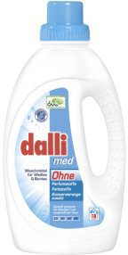 Dalli med Flüssigwaschmittel