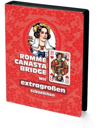 Kartenspiel Klassiker Bridge Canasta RommÈ Ravensburger
