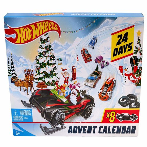 Hot Wheels FYN46 Adventskalender 2019