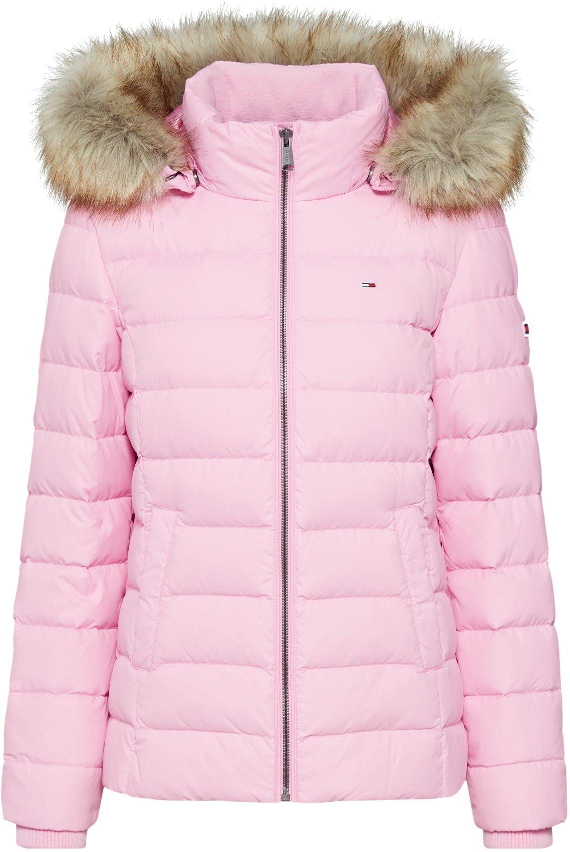 Tommy Hilfiger Essential Hooded Down Jacket pink (DW0DW06774)