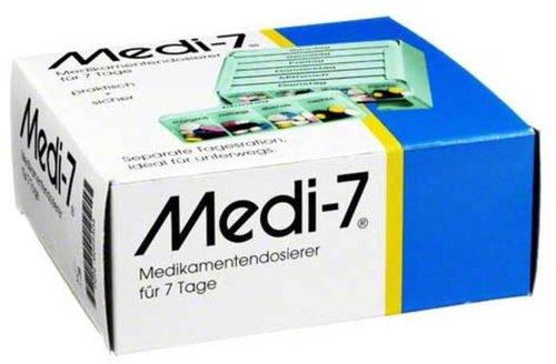 hans-h. hasbargen Medi 7 Medikamentendosierer 7 Tage türkis
