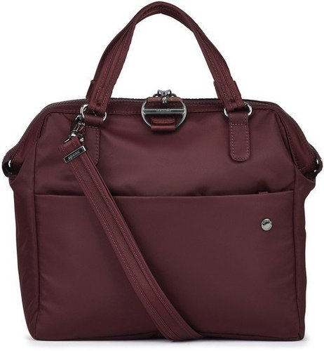 Pacsafe Citysafe CX Satchel Bag merlot