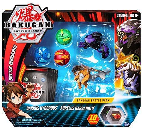 Spin Master Bakugan Battle Planet Darkus Hydorous/Aurelius Garganoid