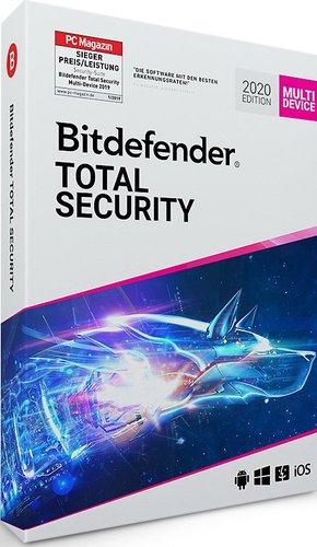 BitDefender Total Security 2020 (5 Geräte) (1 Jahr)