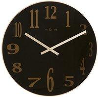XXL Maxi Clock Uhr Zeit Deko Tattoo mit 3D Oberfläche Wanduhr Design bis 150cm