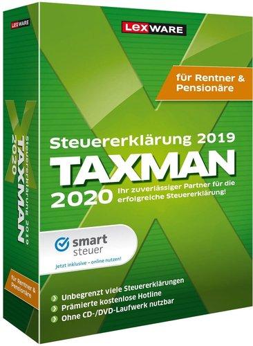 Lexware Taxman 2020 Rentner/Pensionäre (Download)