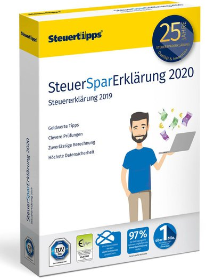 Rechtstipps SteuerSparErklärung 2020 (Box)