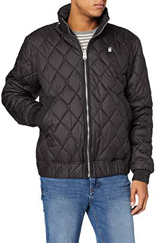 G-Star Meefic Quilted Overshirt black (D06018-B418-990)