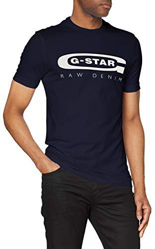 G-Star Graphic 4 Slim T-Shirt (D15104) sartho blue