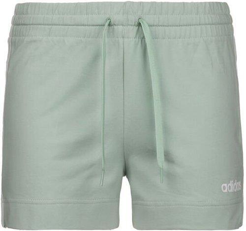 Adidas Women Athletics Essentials 3-Stripes Shorts green Tint/white (FM6685-0002)