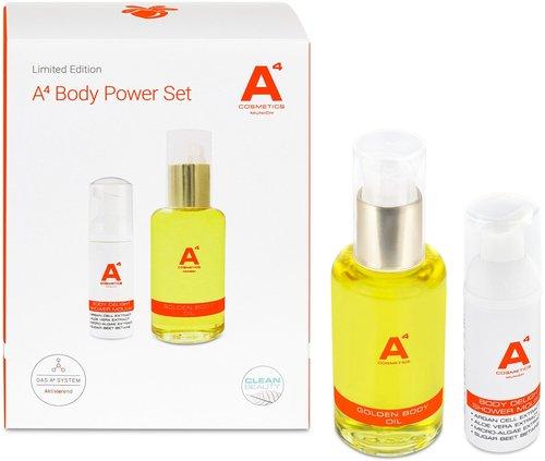 A4 Cosmetics Munich Power Set (BO 100ml +  Delight Shower Mousse 50ml)