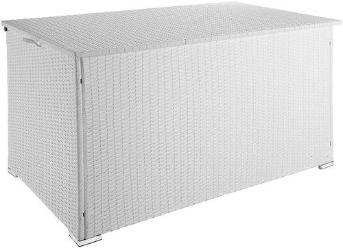 TecTake Auflagenbox Stockholm weiß (403277)