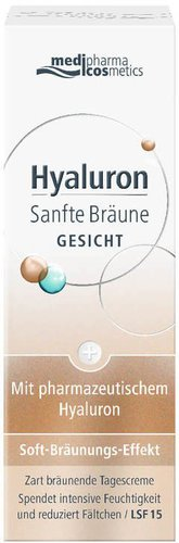Medipharma Hyaluron Sanfte Bräune Gesichtscreme (50ml)