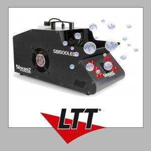 Beamz SB1500LED Smoke & Bubble Machine RGB LEDs
