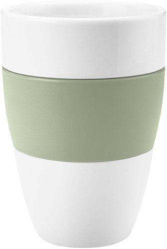 Koziol Becher Aroma Cotton White Eucalyptus Green (400 ml)
