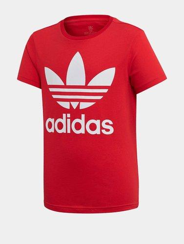 Adidas Originals Trefoil T-Shirt Kids scarlet/white