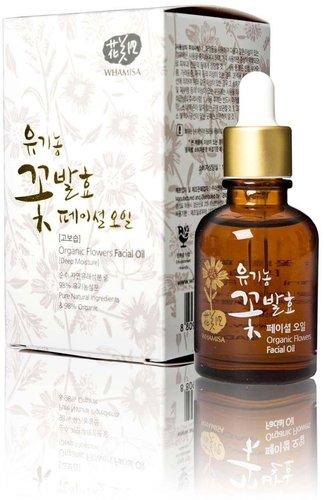 Whamisa Organic Flowers Facial Oil (30ml)