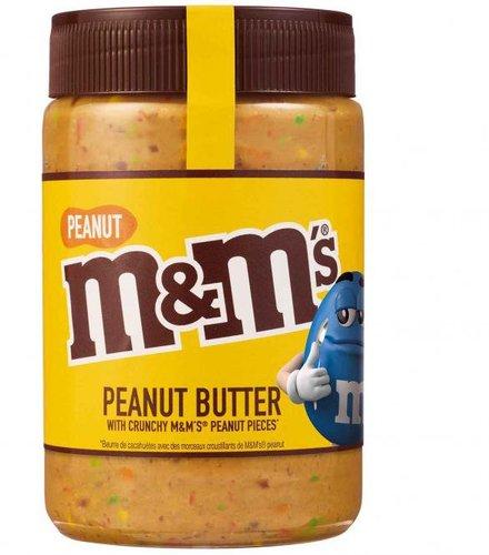M&Ms Peanut Butter Crunchy Brotaufstrich (320g)