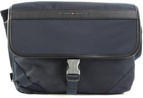 Tommy Hilfiger Elevated Nylon Messenger (AM0AM05025) sky captain