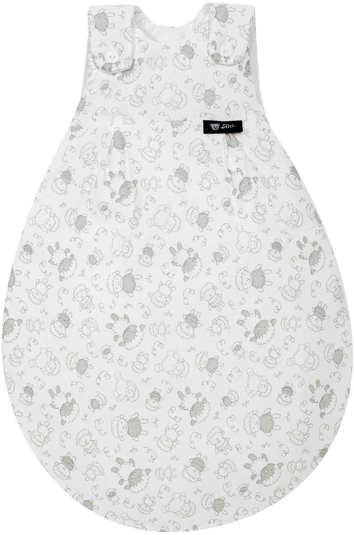 Alvi Baby Mäxchen Außensack Größe 80//86 dots weiß 924-9
