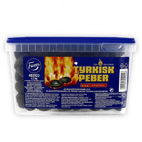 Fazer Tyrkisk Peber Original (2,2kg)