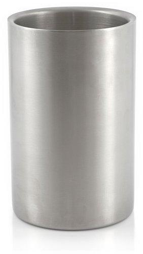 Zelsius Weinkühler, Edelstahl Sektkühler, doppelwandig, Ø 12 x (H) 19 cm