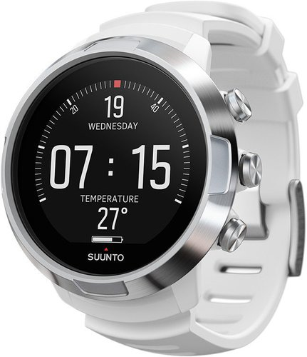 Suunto D5 with USB cable white
