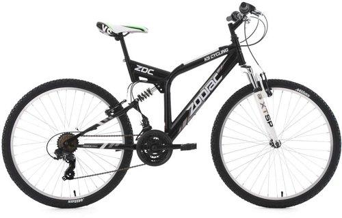 """Mountainbike Fully 26/"""" Zodiac ATB 21 Gang Weiß RH 48 cm 576M"""