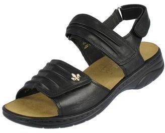 Rieker Sandaletten Annett schwarz   Sandalen   Damen