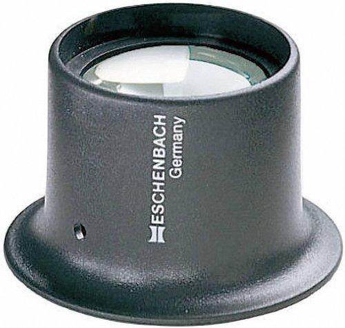 SODIAL 8 Fach Uhrmacherlupe Vergroesserungsglas Augenlupe Schmuck Lupe Juwelier Okular R
