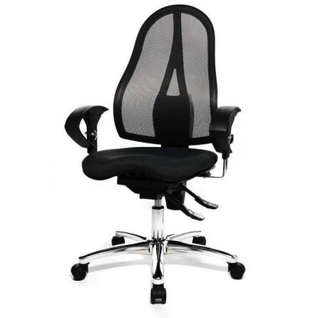 Bürostuhl Schreibtischstuhl Drehstuhl Sessel Topstar Lady Sitness blau B-Ware