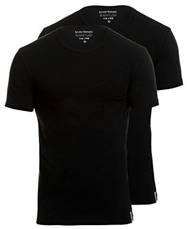 Bruno Banani Herren T-shirt Biker Grau Shirt Baumwolle