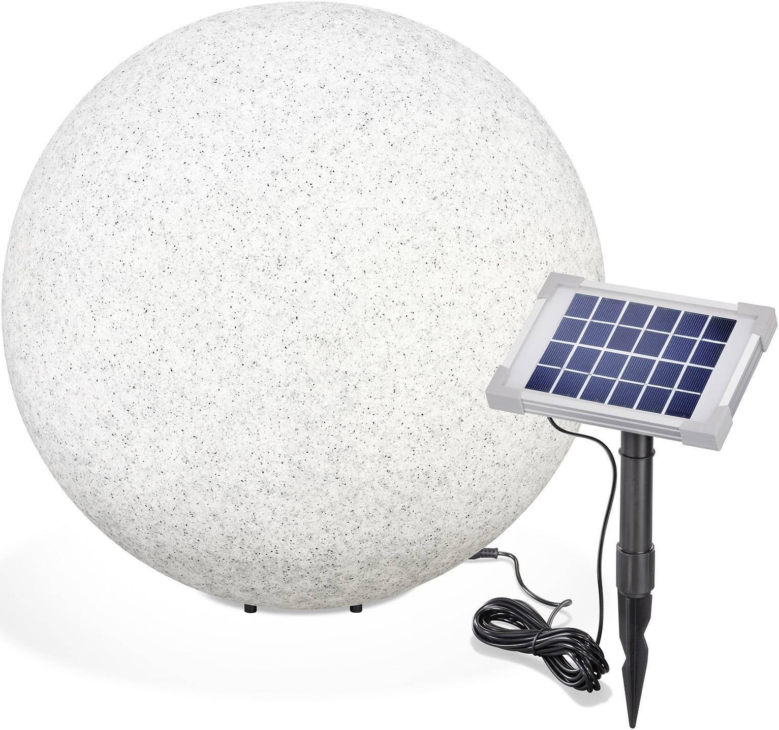 Kabellose LED-Solarkugel Solarleuchte Gartenleuchte Kugelleuchte Gartenkugel