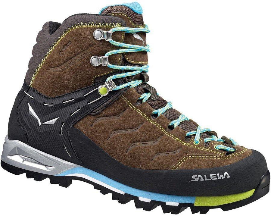 Salewa Damen WS MTN Trainer MID GTX Trekking & Wanderstiefel, Grau (AsphaltSangria 989)