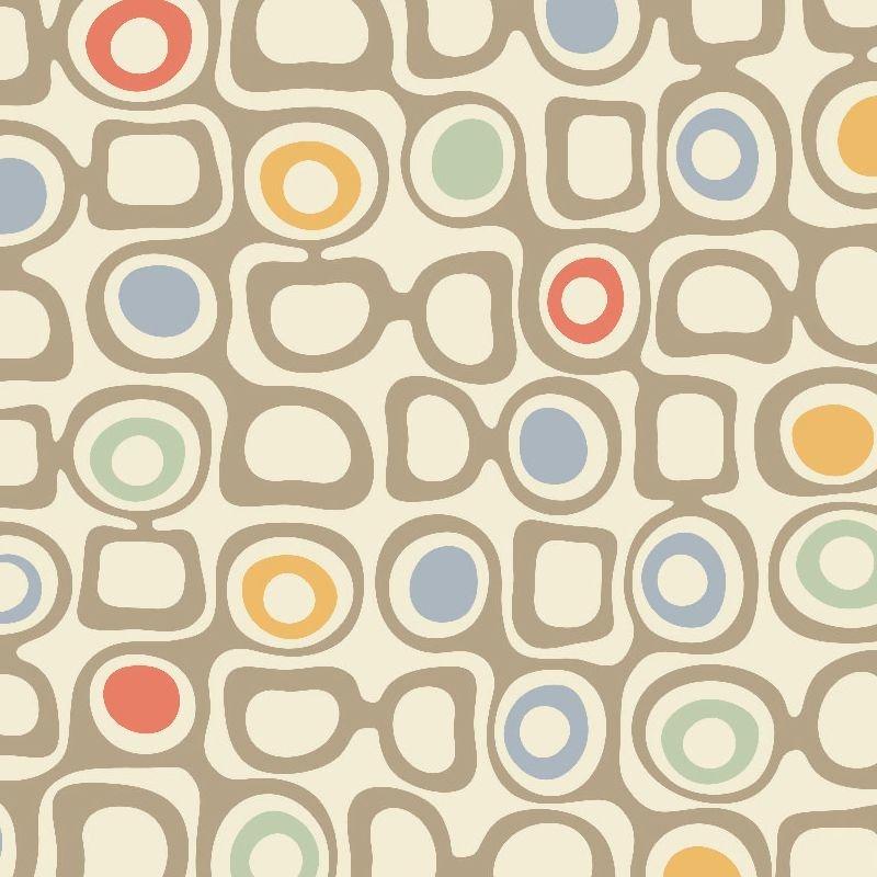 Retro Muster Tapeten Tapeten Der 70er Tapetenmuster
