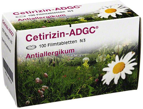 KSK-Pharma Cetirizin Adgc Filmtabletten (PZN 2663704)