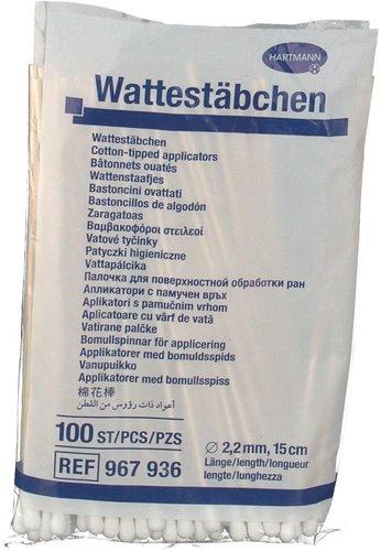 Hartmann Healthcare Wattestäbchen Holz 15 cm (PZN 1480700)