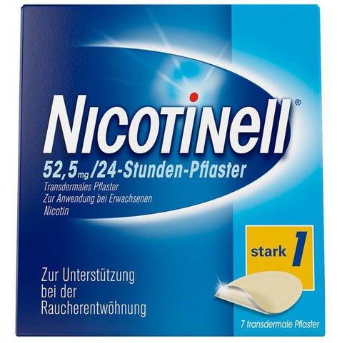 Novartis Nicotinell 52,5 mg 24 Stunden Pflaster, Transder (PZN 3764560)