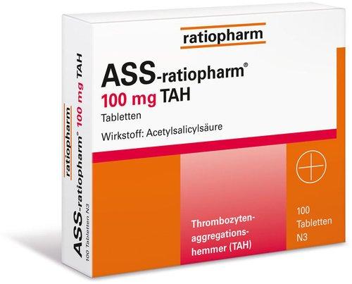 ratiopharm Ass 100 Tah (PZN 1343682)