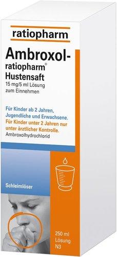 ratiopharm Ambroxol Hustensaft (250 ml)