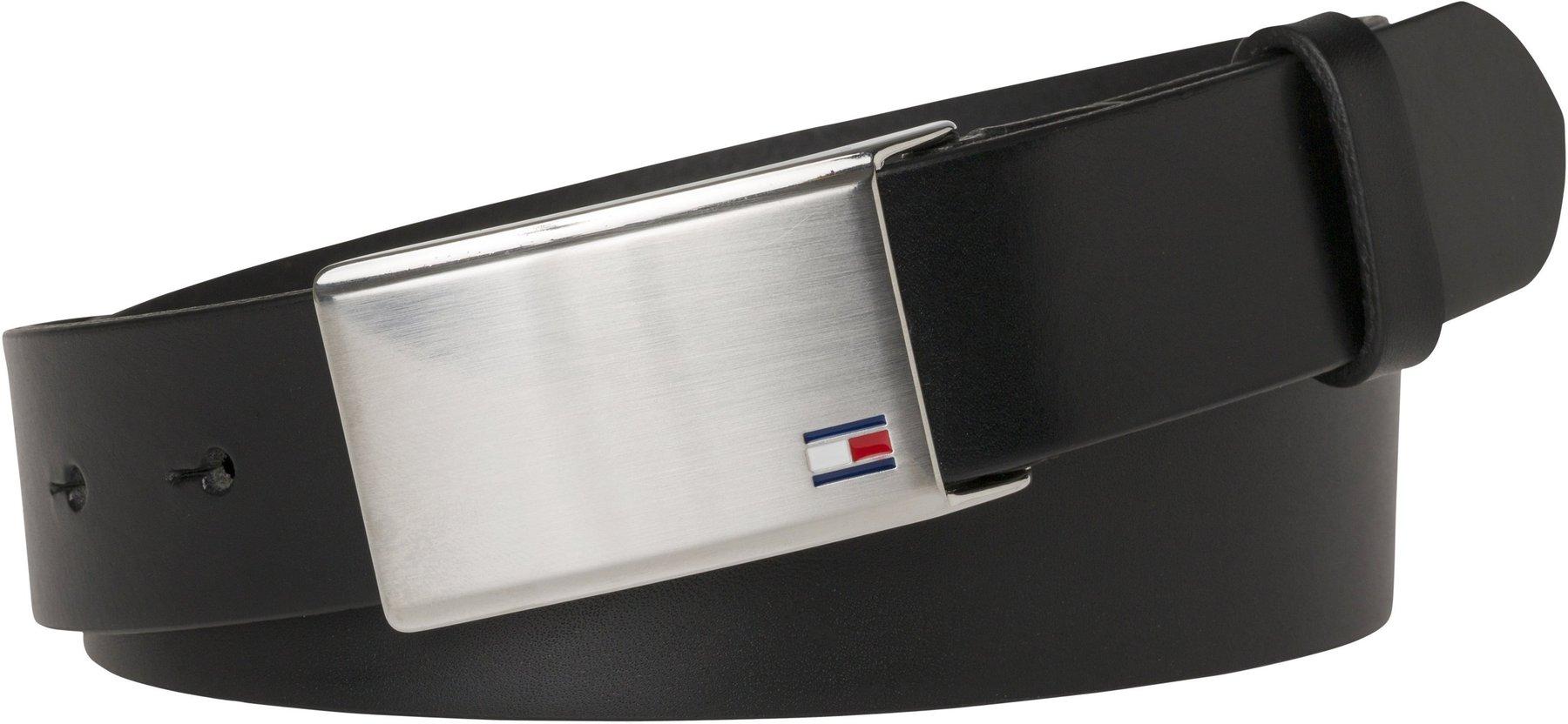 TOMMY HILFIGER New Aly Belt W90 Gürtel Accessoire Midnight Blau Neu