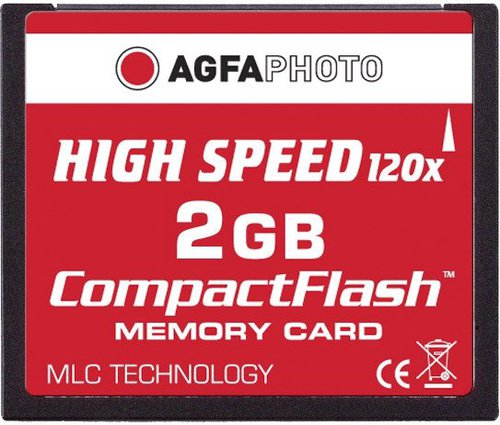 AgfaPhoto Compact Flash Card Highspeed 2 GB 120x