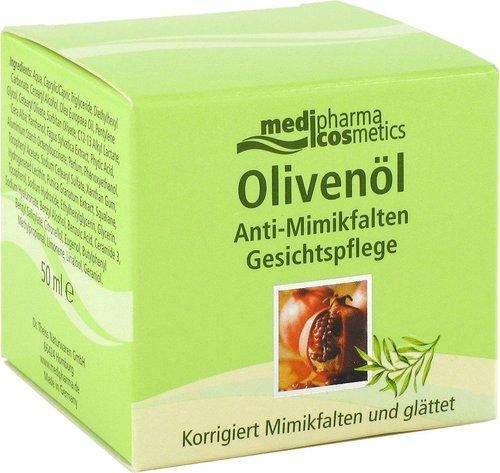 Medipharma Olivenöl Anti Mimikfalten Gesichtspflege