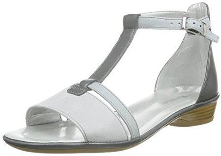 Rohde Alba 5595 39 Damen Hausschuhe Sandale Pantolette Zehenring Kupfer
