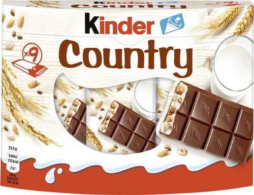 Ferrero Kinder Country (9er-Packung)